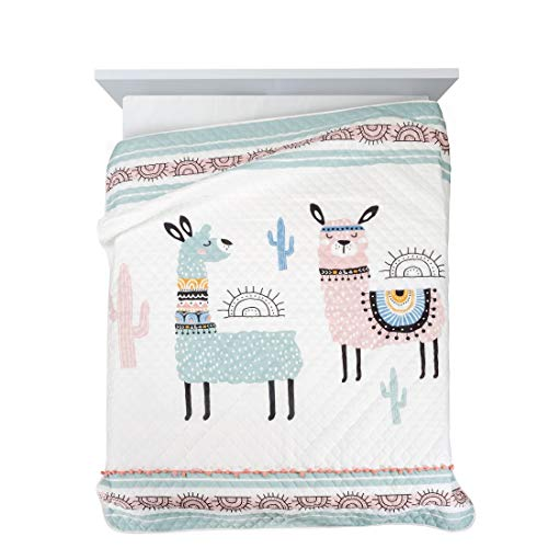 Design91 Tagesdecke zum Kinderzimmer, Kinderdecke, Bunte Decke, Bettüberwurf für Kinder, Bettdecke Größe: 170X210 cm, Für: Mädchen und Jungen (DAGA)