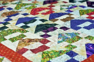 Tagesdecke Quilt Patchwork