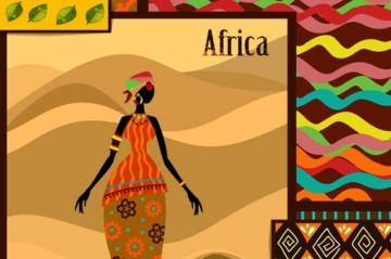 Tagesdecke Afrika Sitl © depositphotos.com